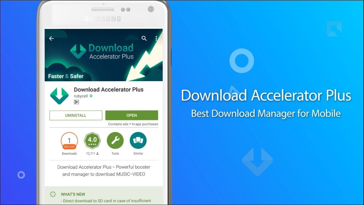Download Accelerator Plus for Android