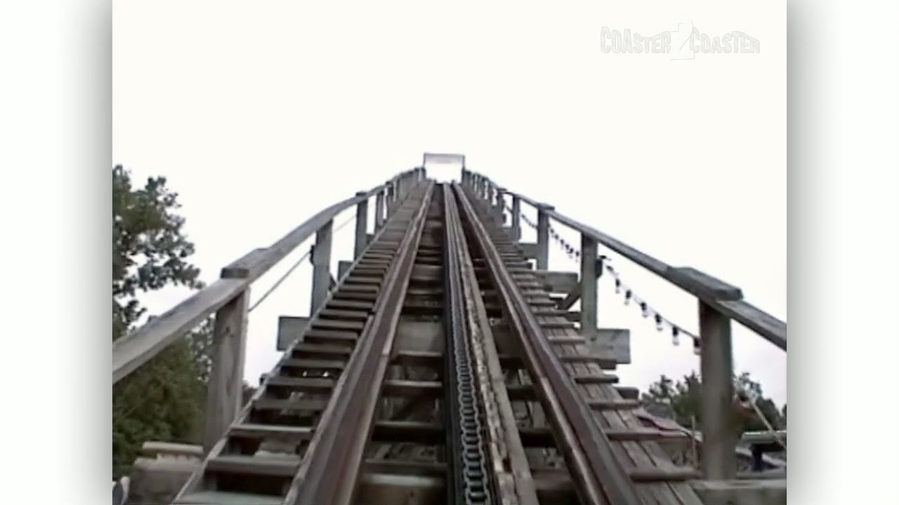 Screechin Eagle Coaster Pov Lesourdsville Lake