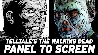 Telltale's The Walking Dead Episode: Game vs. Comic!