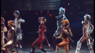 Finale: The Ad-Dressing of Cats, CATS musical, Moscow, 2005-2006. Oleg Fedkushov as Deuteronomy