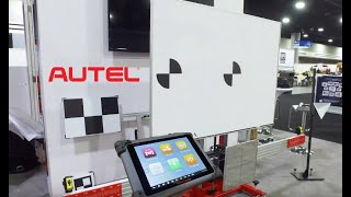Autel® Maxisys ADAS Calibration Scanner at NACE Automechanika 2018