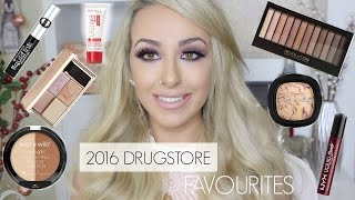2016 Drugstore Favorites & Swatches! ♡ Best Affordable & Cheap Makeup Products
