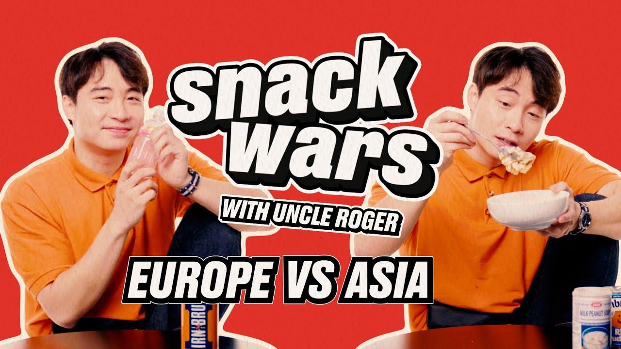 Uncle Roger - Egg Fried Rice Vs Pot Noodle Taste Test | Snack Wars | LADbible