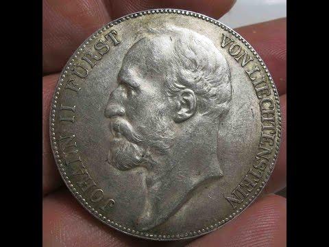 Liechtenstein 5 Kronen 1904