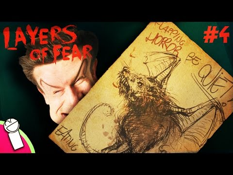 Layers of Fear - Part 4 - Playthrough - STEAMY WINDOWS