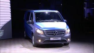 New 2015 Mercedes-Benz Vito world premiere