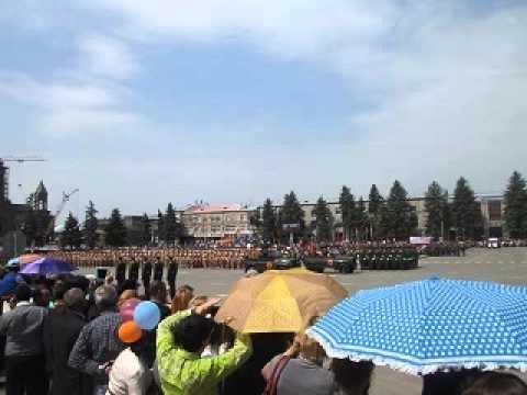Парад в г. Гюмри (Армения), (радио