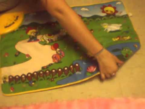 Fun and Educational WolVol Baby Play Mat Musical Animals & Farm