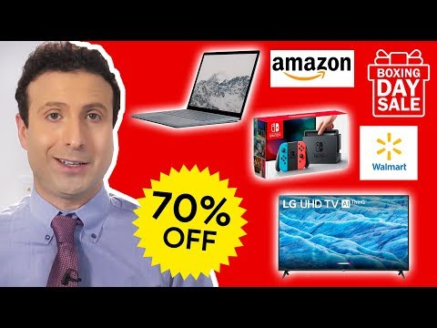 Best Amazon Boxing Day 2019 Deals (CRAZY AFTER Christmas Sales!)