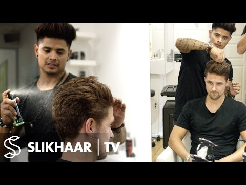 Men's hair coloring | From Blonde to Auburn brown