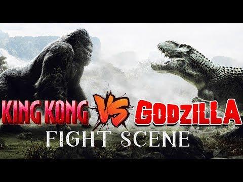 King Kong VS Godzilla   Fight Scenes   Movie Clip