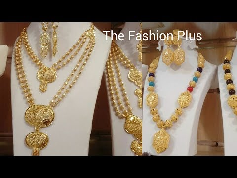 Latest gold necklaces Turkey's Designs