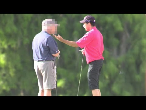 Screaming On The Golf Course! (INSANE REACTION) |