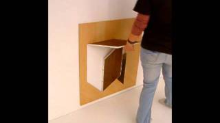 Folding Bedside Table