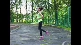 видео Бег для тонуса мышц