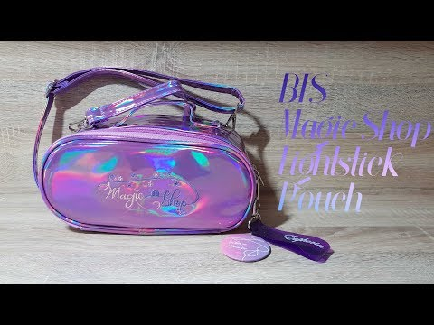 BTS Magic Shop Lightstick (army bomb) Pouch unboxing