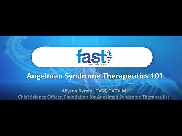 Vue globale sur le syndrome d'Angelman par Allyson Berent