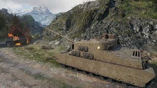 WoT Tortoise 9683 dmg + 16230 !!! blocked 1833 exp - Mountain Pass