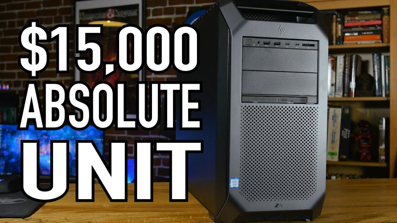 $15,000 HP Z8 Workstation | Overview & Benchmarks | ZWorkstations com