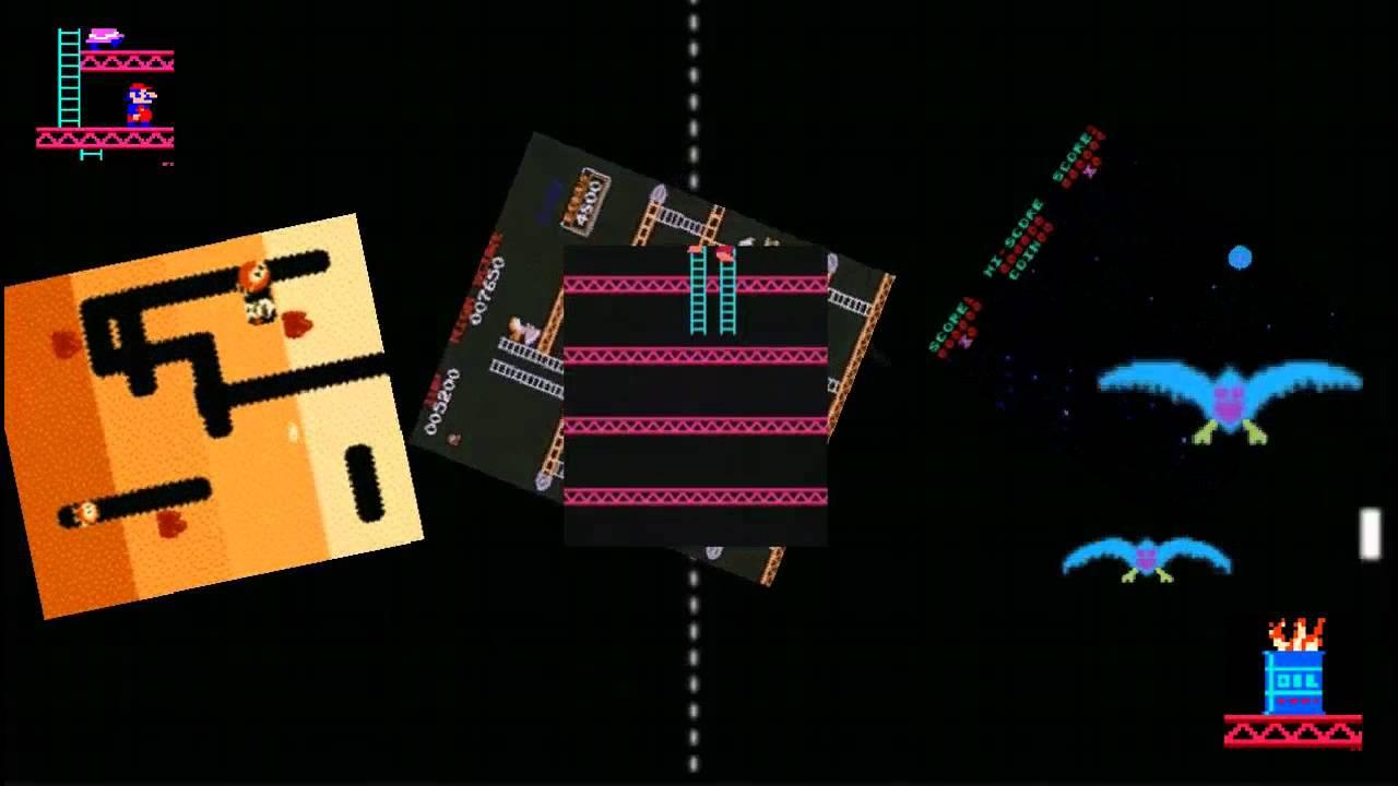 Arcade Classics Live Wallpaper for Android ZXMAMECD