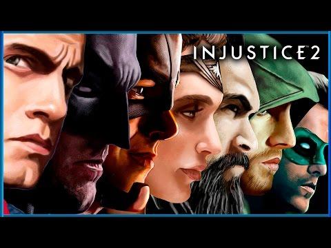 INJUSTICE 2 - Pelicula Completa en Español Latino HD 1080p | HISTORIA COMPLETA (Liga de la Justicia)