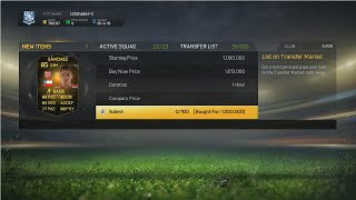 INSANE TRADE - 500K PROFIT ON IF SANCHEZ - FIFA 15 ULTIMATE TEAM Thumbnail
