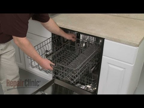 Upper Dish Rack Assembly - LG Dishwasher