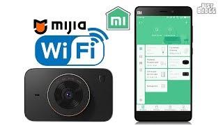 как подключить видеорегистратор Xiaomi Mijia DVR к телефону