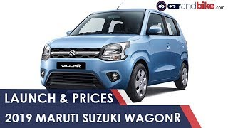 2019 Maruti Suzuki WagonR Launch and Prices | NDTV carandbike