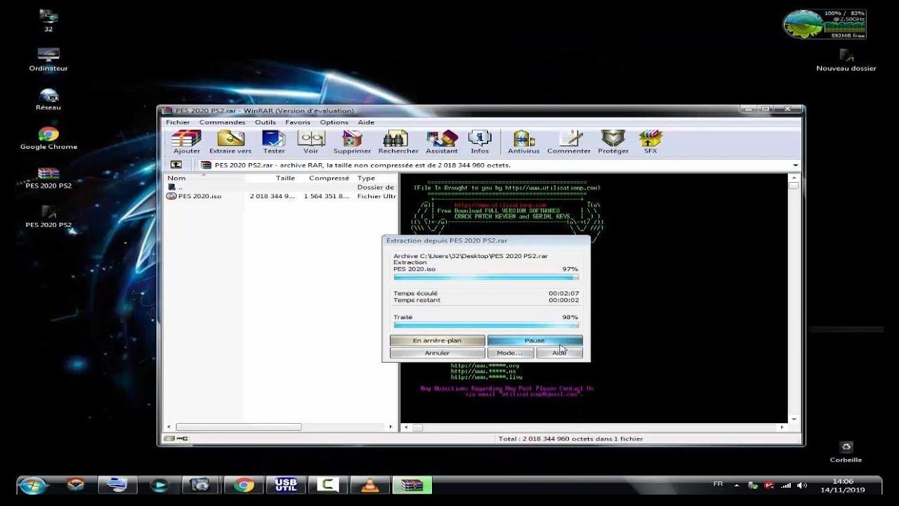 Download PES 2020 PS2 ISO - utilisationp
