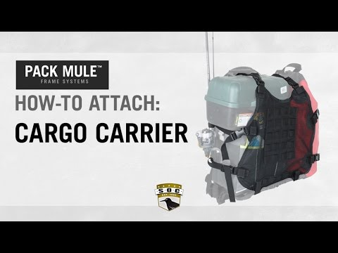 PACK MULE™: How-to Attach Cargo Carrier - YouTube