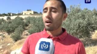 شكاوى ومطالبات سكان مخيم سوف بتبديل أرض المقبرة الصخرية بأخرى يسهل الحفر فيها