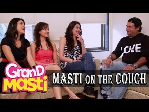 Suresh Menon Interviews 'Masti' Hotties Karishma Tannah, Sonalee Kulkarni & Manjari Fadnis