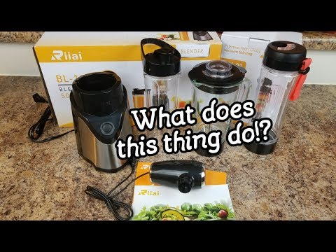 Making Smoothies With The Riiai Blender!