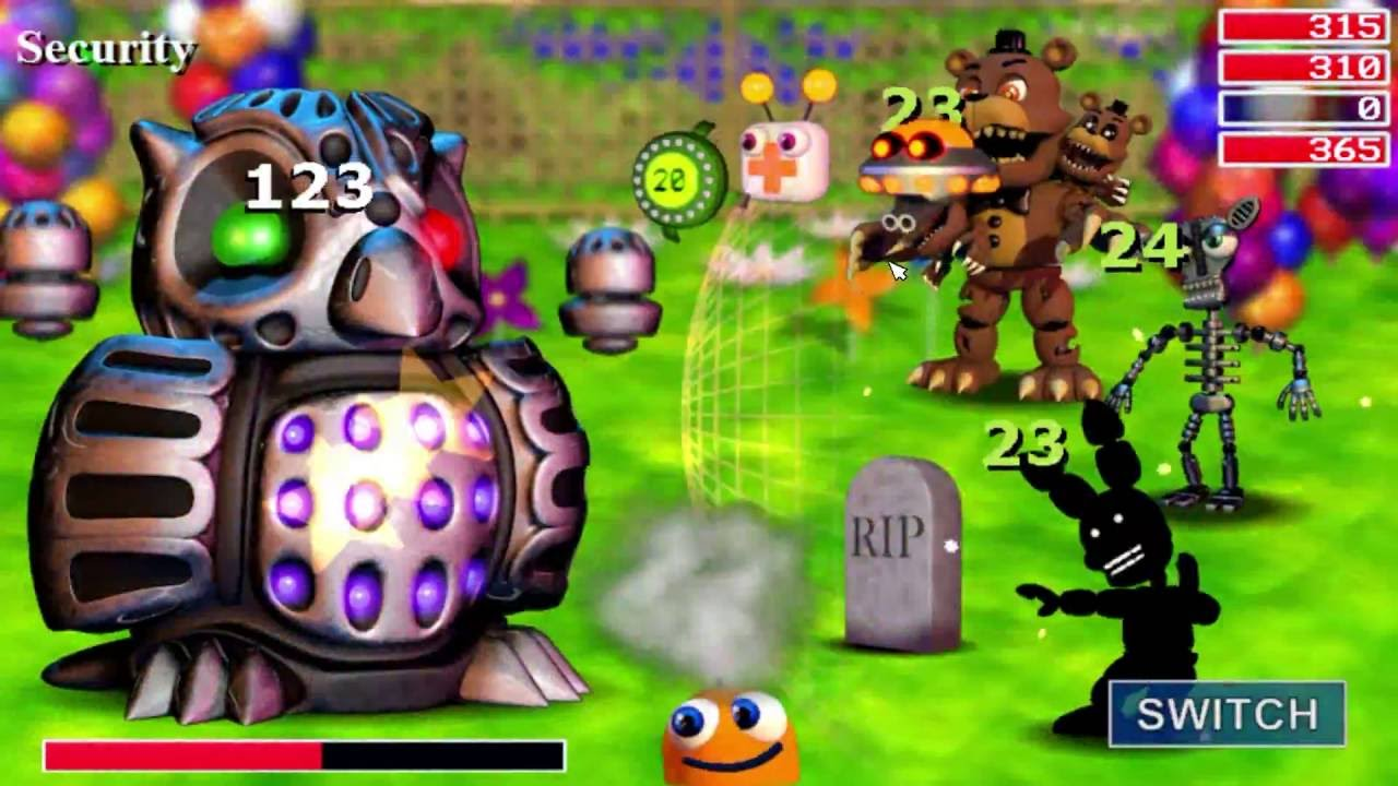 how to play fnaf world