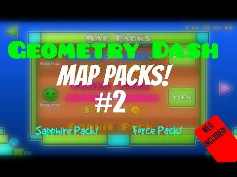 (#25) Geometry Dash - Map Packs Episode 2!