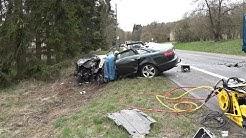 03.04.2019 - Schwerer Verkehrsunfall auf der B 412