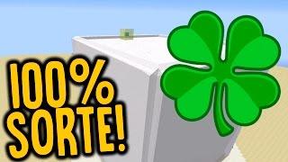 CUBÃO LUCKY BLOCK : CUBÃO 100% SORTE!! (MINECRAFT TROLL )