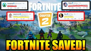 NEW Fortnite 2 Is INCREDIBLE.. PROS CAN'T BELIEVE How GOOD It is! Fortnite SAVED?