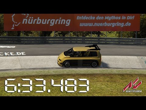Assetto Corsa - 1994 Renault Espace F1 - Nürburgring Nordschleife Lap Times - 6:33.483