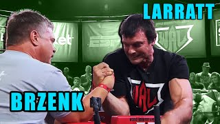ARM WRESTLING John Brzenk VS Devon Larratt