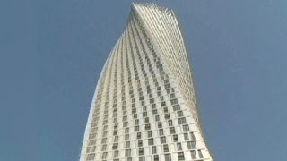 Dubai's twisted tower is world's tallest