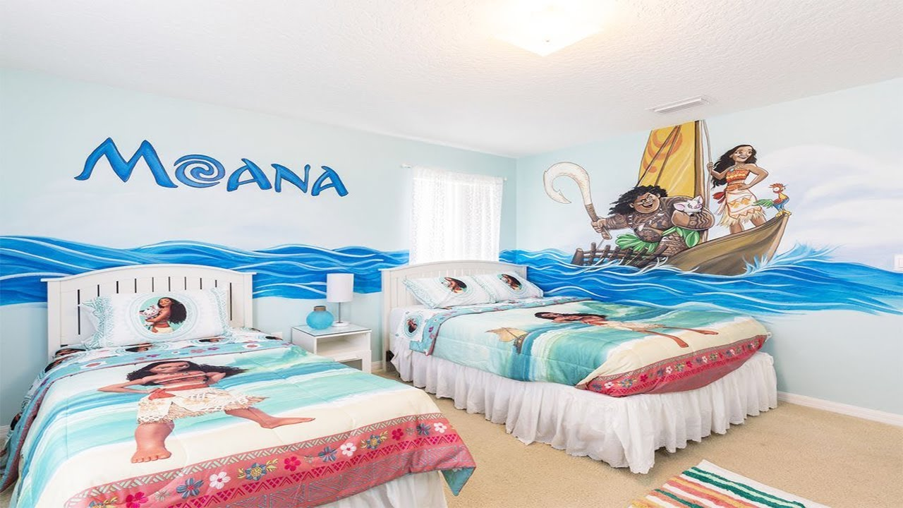 Moana Rooms Ideas For Kids Youtube