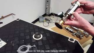 Inficon UL 500 Dry Leak Detector #54418