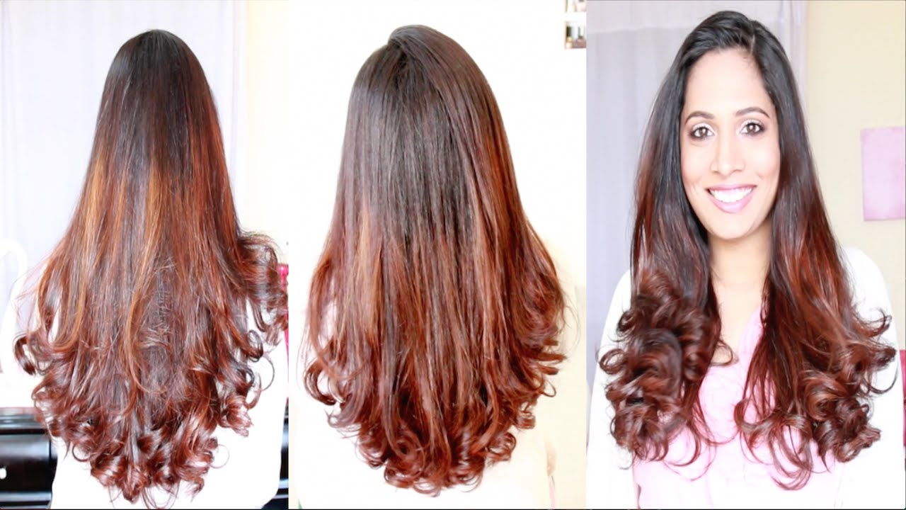 How I Style My Long Hair Shruti Arjun Anand YouTube