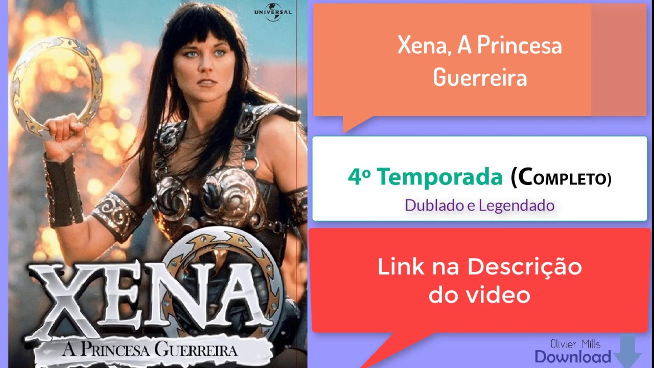 XENA A PRINCESA DUBLADO 4 BAIXAR GUERREIRA TEMPORADA