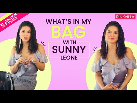 What's in my bag with Sunny Leone | S02E01 | Bollywood | Fashion | Pinkvilla