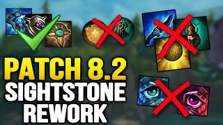 Sightstone REWORK in Patch 8.2? End of Relic Shield + Overheal ADC meta (League of Legends)
