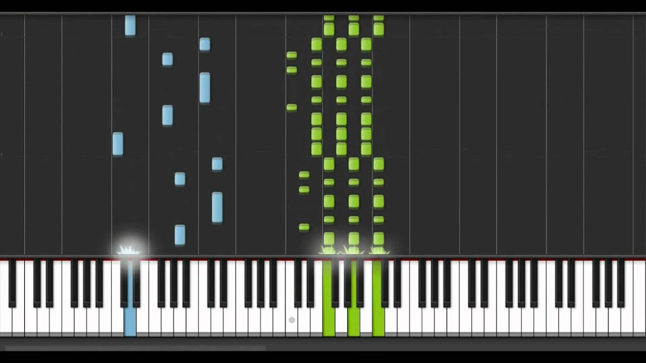 Super Mario Bros Piano - Star Theme piano tutorial