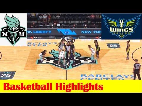 Dallas Wings vs New York Liberty WNBA Basketball Game Highlights 7 5 2021